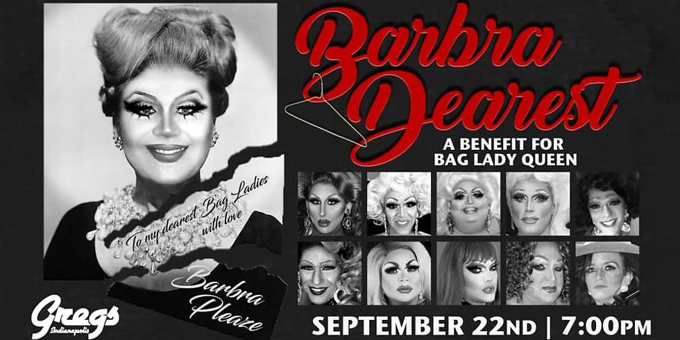 Barbra Pleaze for Bag Lady Queen 2019