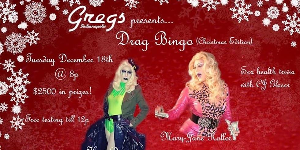 Drag Bingo (Christmas Edition)