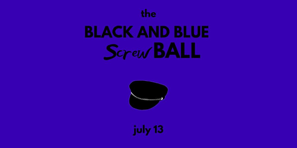 The Black and Blue Screwball