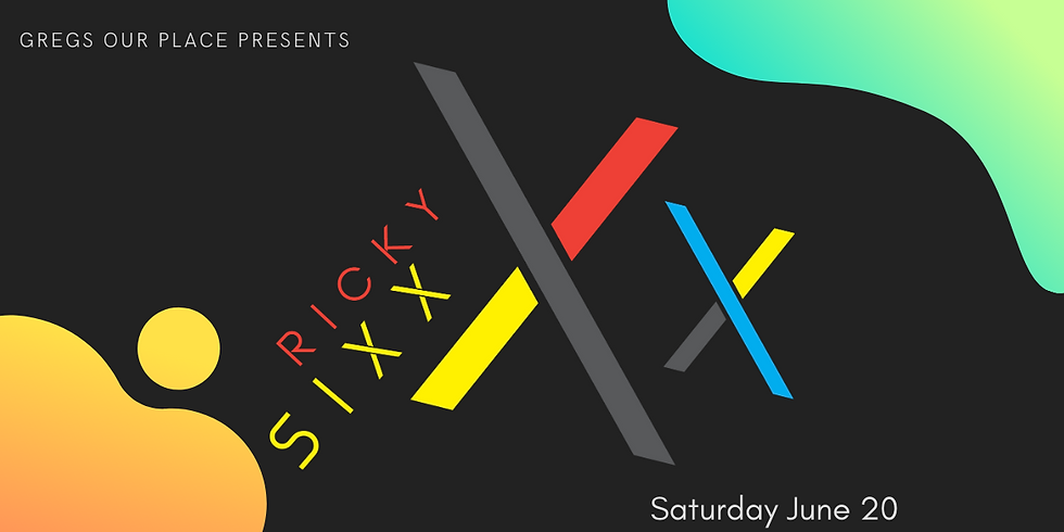 Gregs Our Place Presents: DJ Ricky Sixx - Live Video Mixing