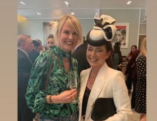 Laylaleigh at the launch of The Royal Ascot Millinery Collective at Fenwick Bond St