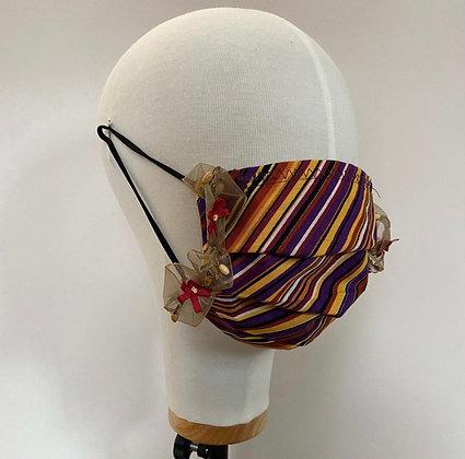Stripe facemask