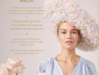Laylaleigh chosen to join The Royal Ascot Millinery Collective