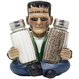 Frankenstein Salt and Pepper Shakers