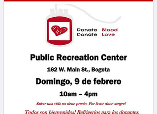COME DONATE BLOOD THIS SUNDAY!!!