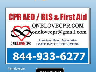 CPR 💉BLS provider Class near me