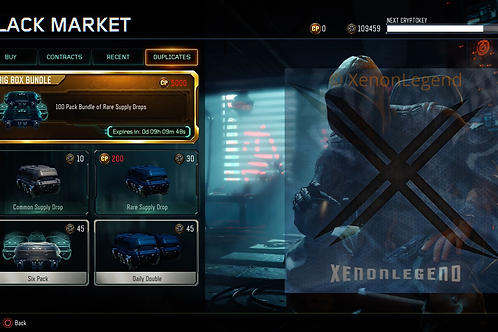 BO3 Cryptokey Services (PS4 Only)