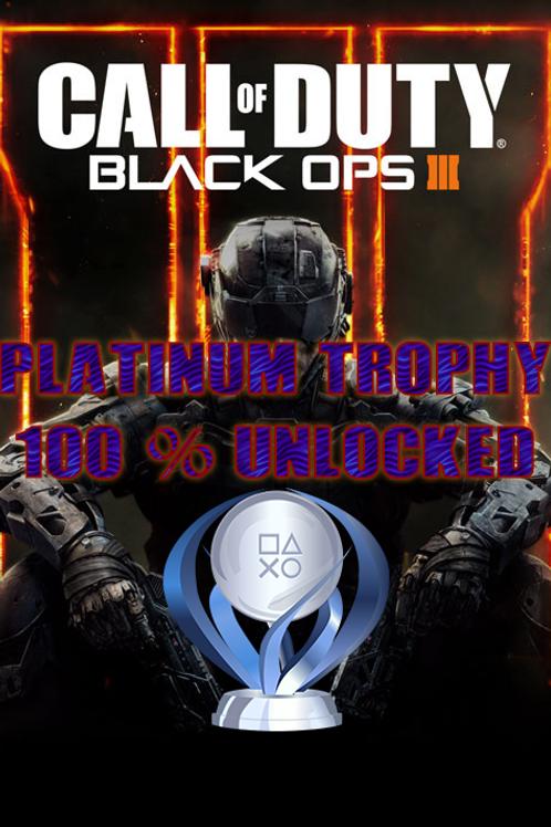 BO3 [PS4/PS5] PLATINUM Trophy UNLOCK service