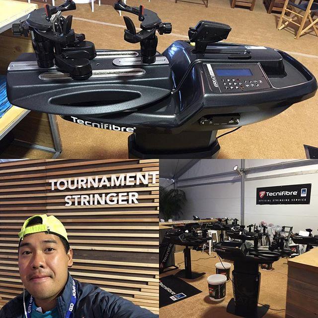 Tecnifibre String Booth _tecnifibre ) #t