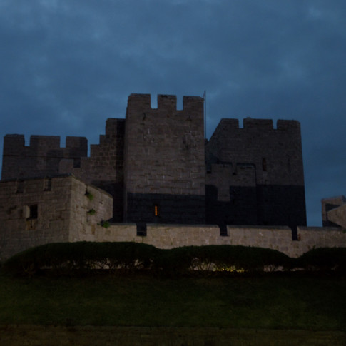 Castlerushen in Castletown, on the Isle of Man