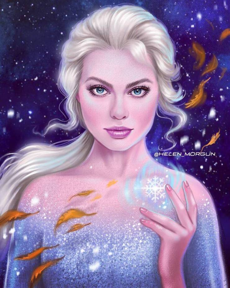 Artist Illustrates Celebrities As Famous Cartoon Characters