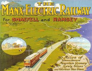 Manx Vintage Travel Posters