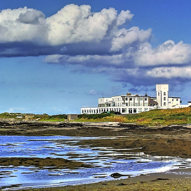 Coastal image of Castletown Golflinks hotel, on the Isle of Man.