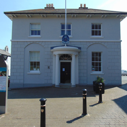 The Old House Of Keys, Previous centre of parliament, on the isle of man.