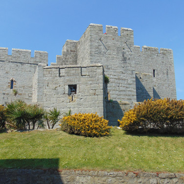 Castlerushen in Castletown, on the Isle of Man