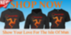 Buy t-shirt and Hoodies from the Isle of Man