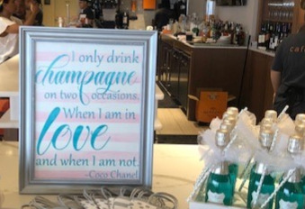 Bridal Shower Favor Sign
