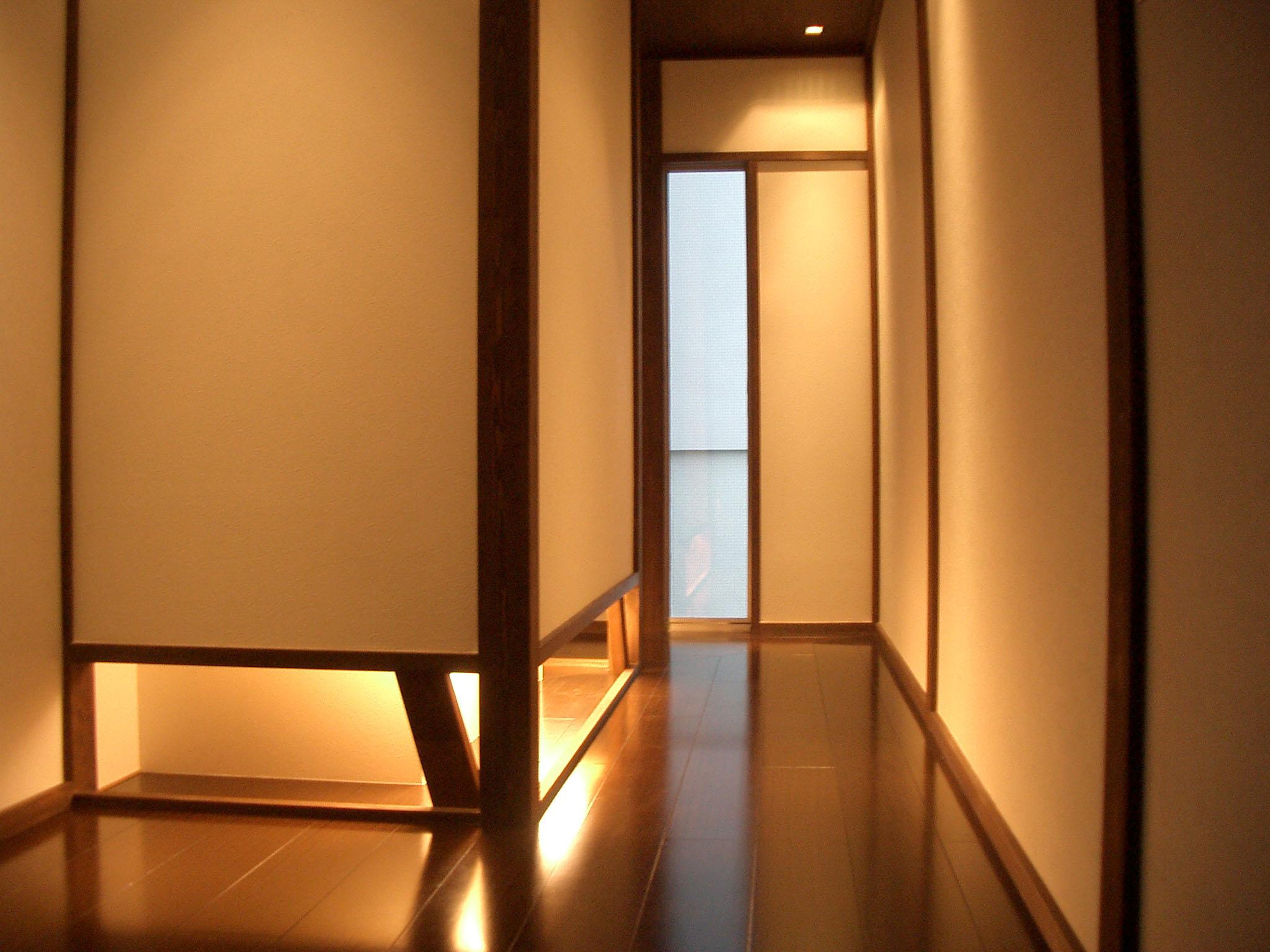 個人住宅の廊下の様子です