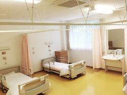 浜坂七釜温泉病院の病室の様子です