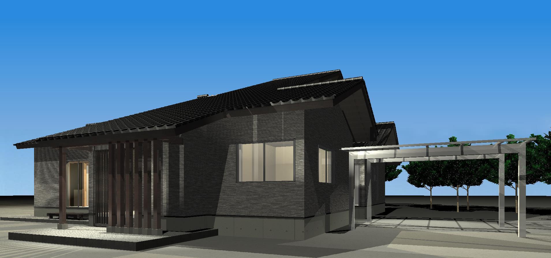 3Dパース   Tu house004