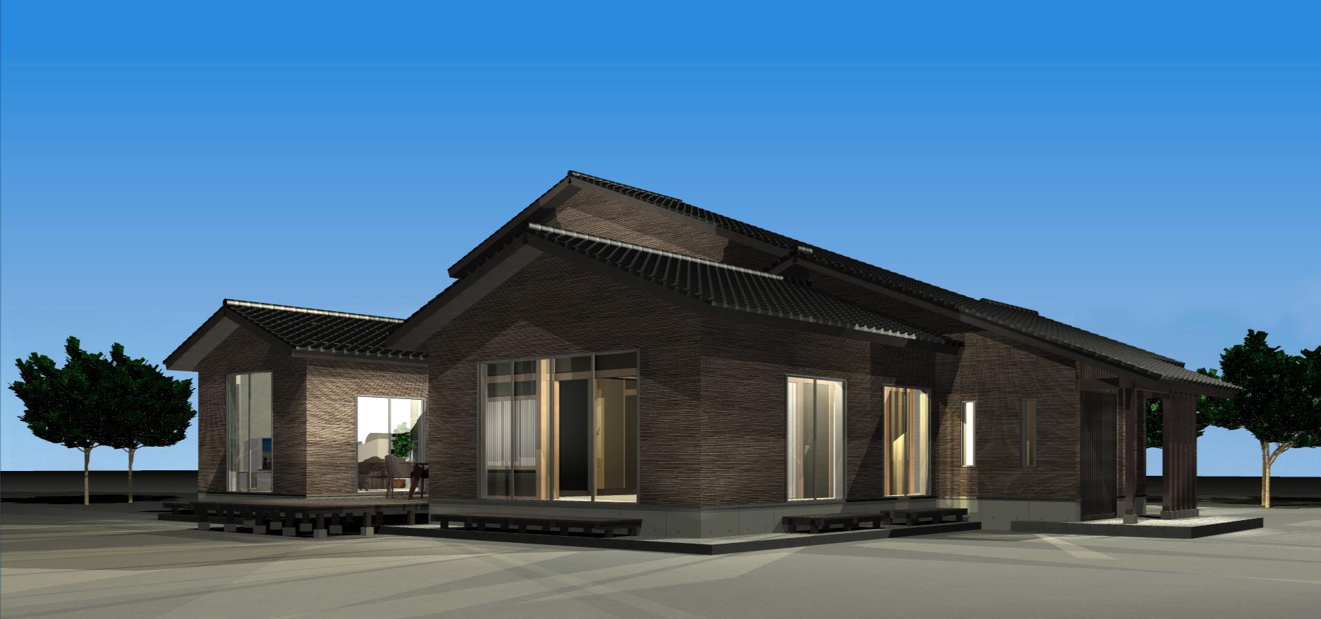 3Dパース   Tu house002