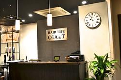 Hair Life OIALTの店内です