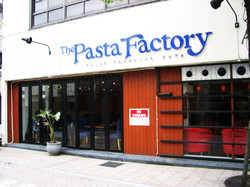 イタリアンレストランThe Pasta Factoryの外観です