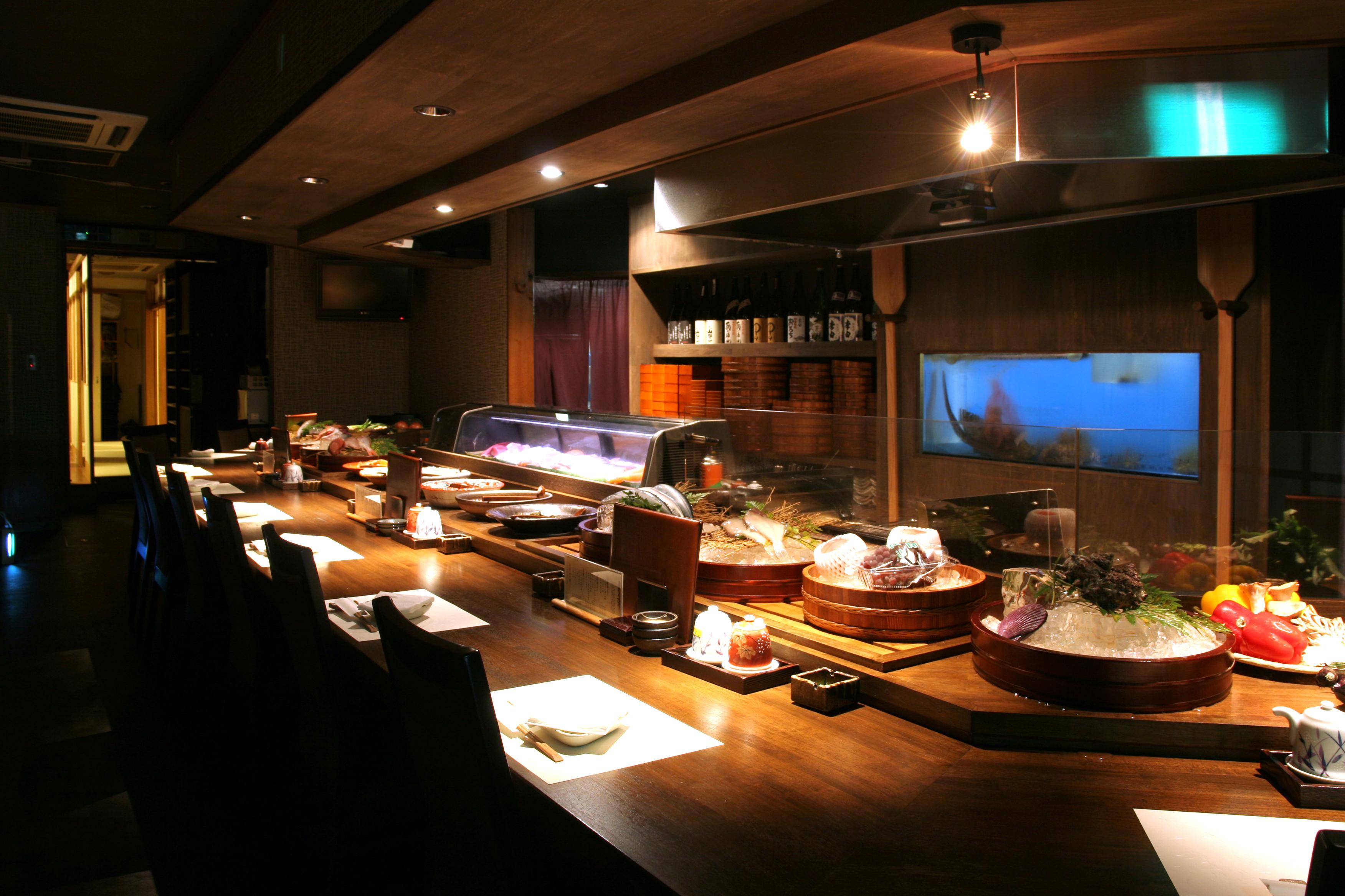 海援丸 松江店の店内の様子です