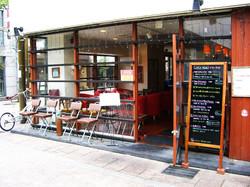 イタリアンレストランThe Pasta Factoryの入口です