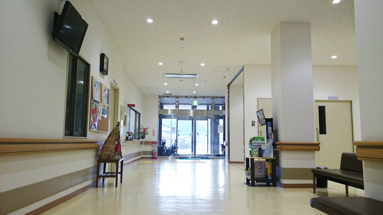 浜坂七釜温泉病院の院内の様子です