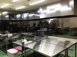 モルツウェル真空調理工場の室内の様子です