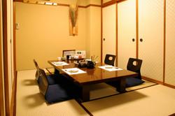 海援丸 松江店の個室の様子です