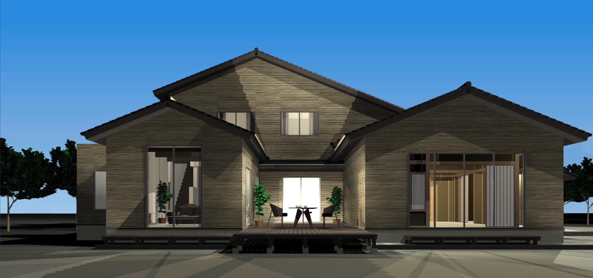 3Dパース   Tu house005