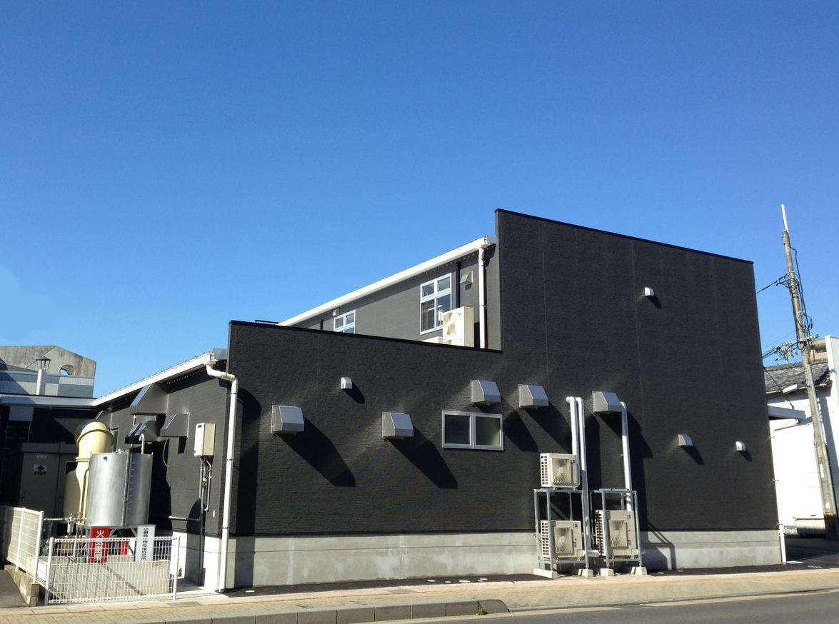モルツウェル真空調理工場外観です