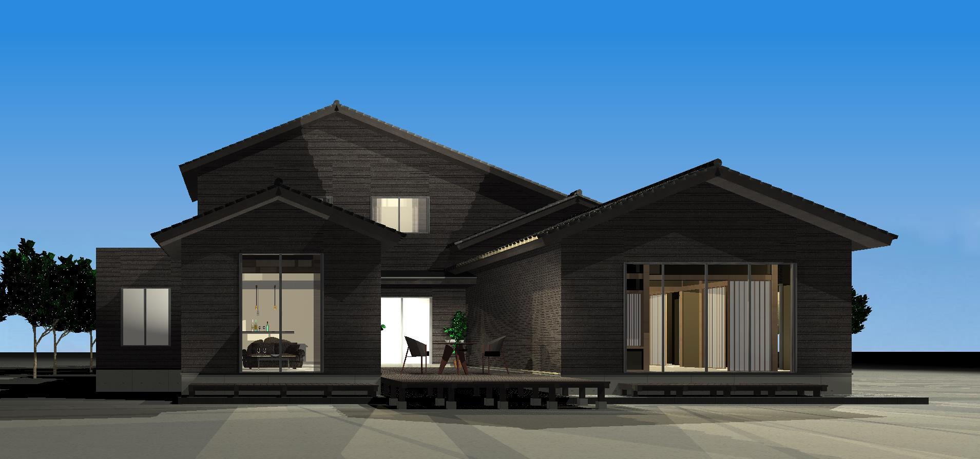 3Dパース   Tu house001