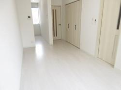賃貸アパートSUNRISE 98 の室内入口です