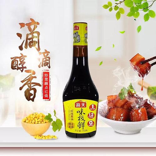 Haday Premium Soy Sauce 海天味极鲜 (750ml/btl)
