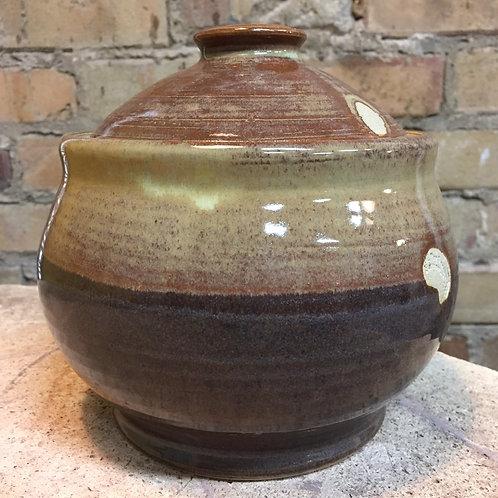 Coffee Table Jar w/lid