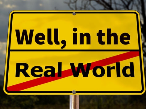 """The Problem with the """"Real World"""""""