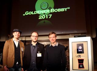 """""""Das Duett"""" beim VDT Award 2017 in Berlin"""