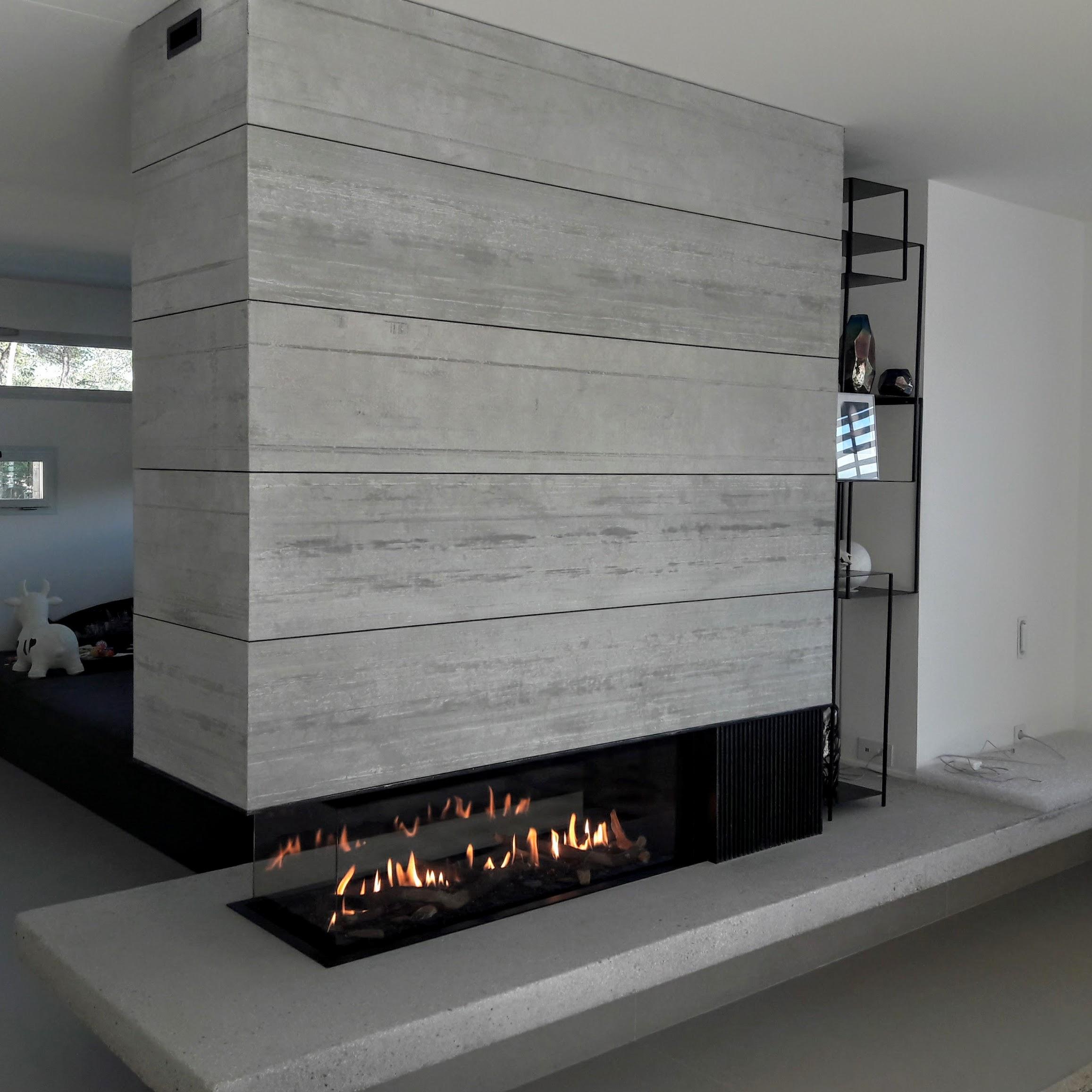 cheminée gaz haut de gamme Aix