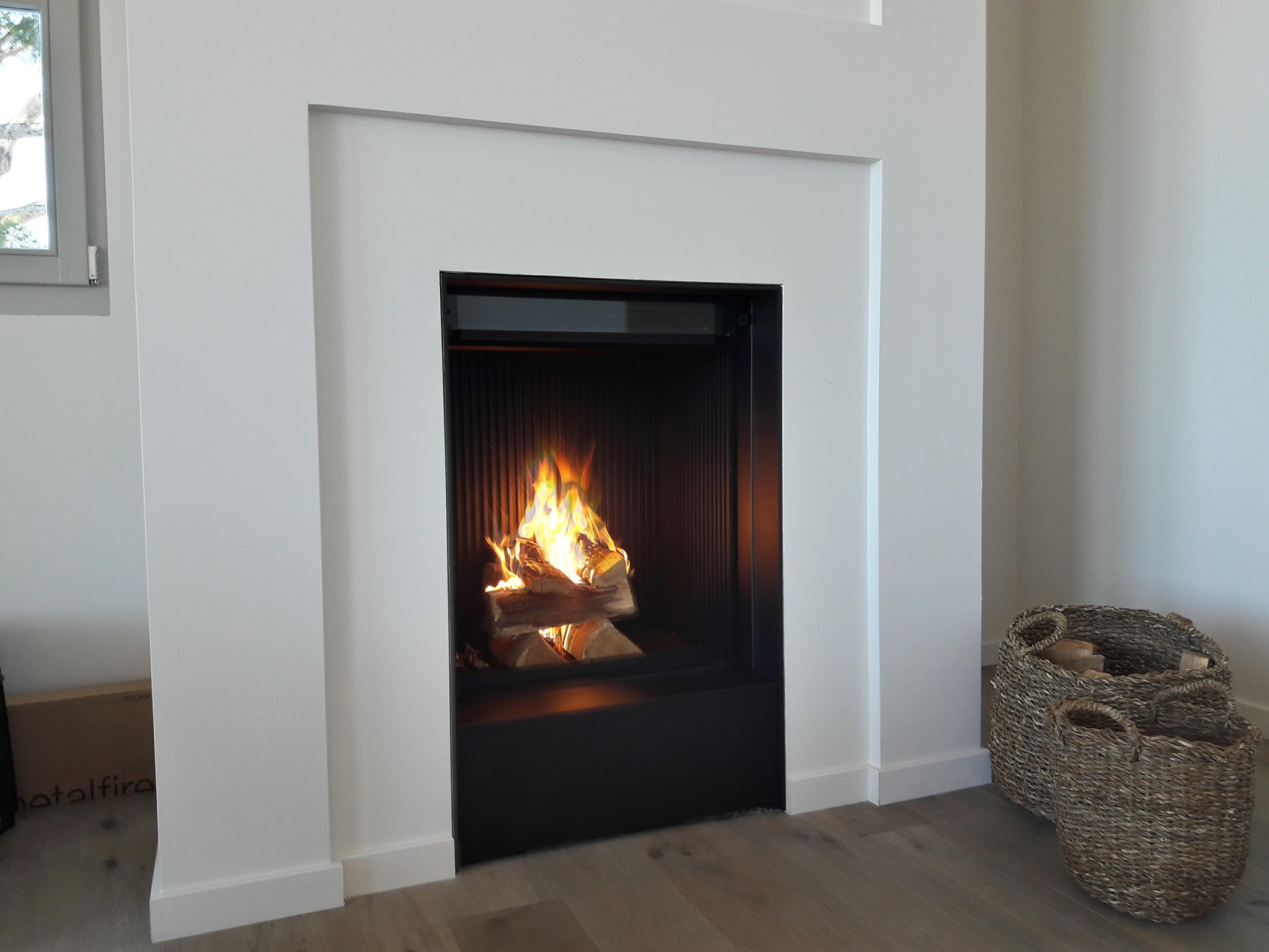 Création cheminée à Cassis