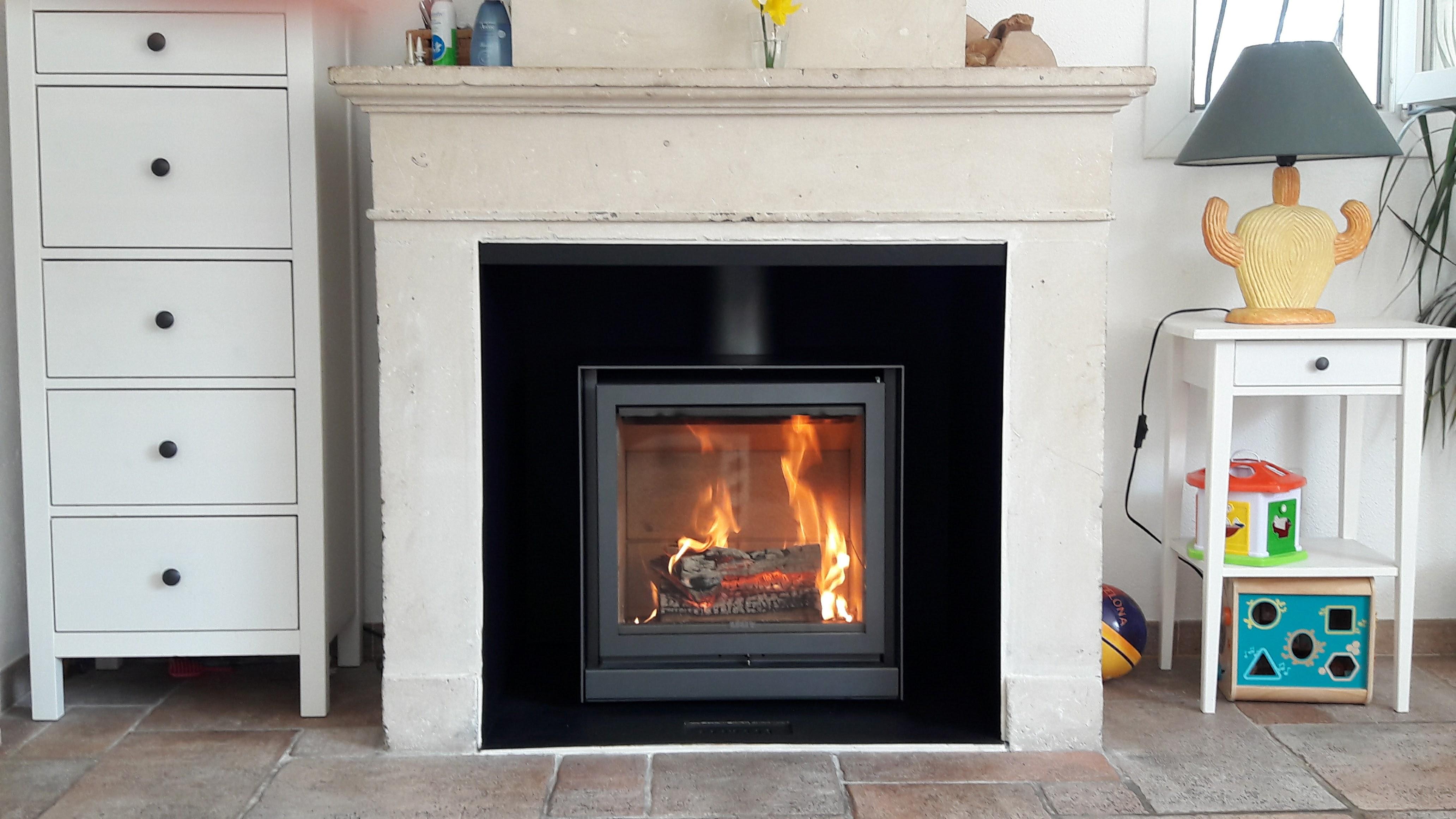 insert cheminee ancienne