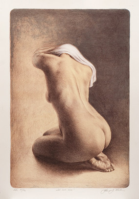The white cloth