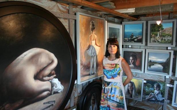 Exhibition in Sjøbu på Vikane Fredrikstad