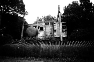 The Abandoned Architectural House