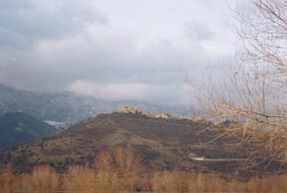 Mountain on foggy morning, 2014 ©