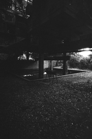 Under the House, Piano and Swimming Pool