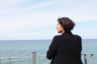 Woman looking at the Sea N°1, 2015 ©