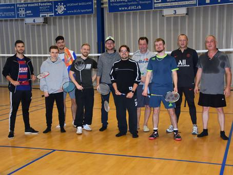 Badminton Plausch 3. Oktober 2020